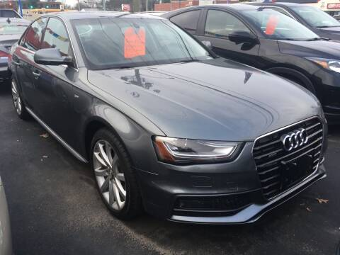 2014 Audi A4 for sale at MELILLO MOTORS INC in North Haven CT