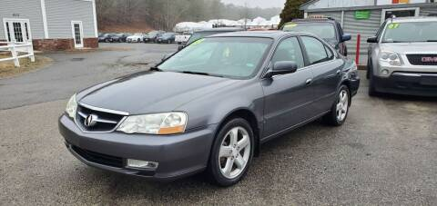 2003 Acura TL for sale at Falmouth Auto Center in East Falmouth MA