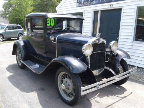 1930 Ford Model A for sale at Quest Auto Outlet in Chichester NH