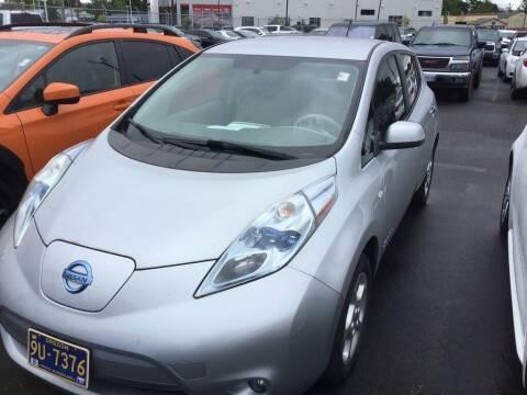 2011 Nissan LEAF for sale at Royal Moore Custom Finance in Hillsboro OR
