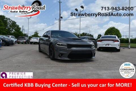 2017 Dodge Charger for sale at Strawberry Road Auto Sales in Pasadena TX