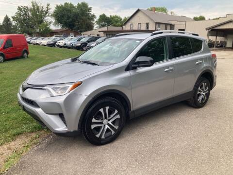 2017 Toyota RAV4 for sale at COUNTRYSIDE AUTO INC in Austin MN