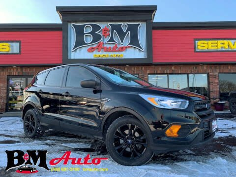 2017 Ford Escape for sale at B & M Auto Sales Inc. in Oak Forest IL