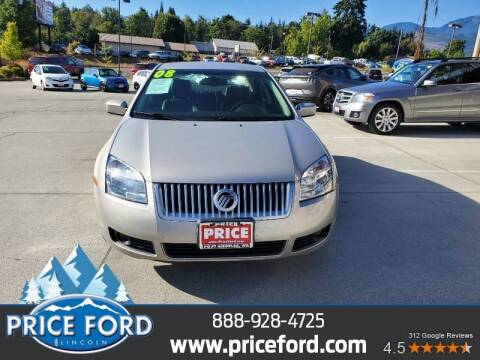 2008 Mercury Milan for sale at Price Ford Lincoln in Port Angeles WA