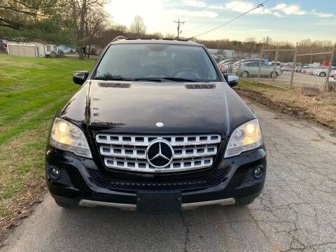 2009 Mercedes-Benz M-Class for sale at Speed Auto Mall in Greensboro NC