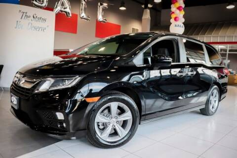 2018 Honda Odyssey for sale at Quality Auto Center of Springfield in Springfield NJ