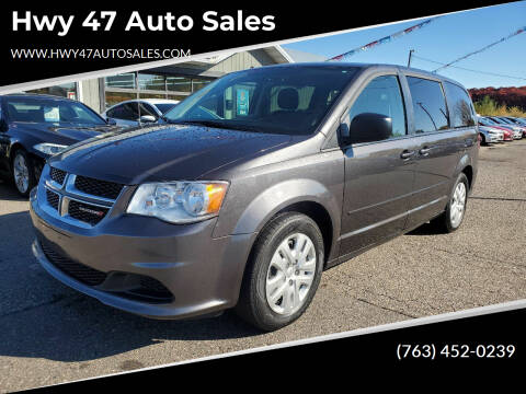 2016 Dodge Grand Caravan for sale at Hwy 47 Auto Sales in Saint Francis MN