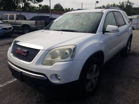2011 GMC Acadia for sale at Castle Used Cars in Jacksonville FL
