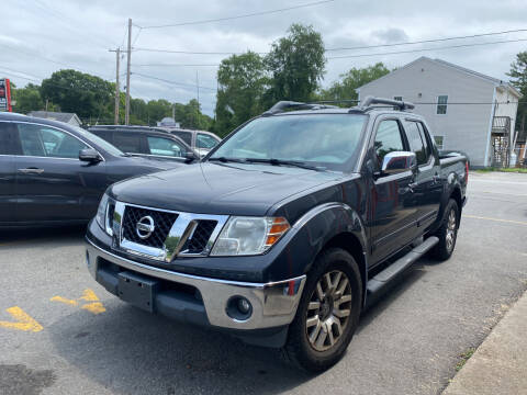 2011 Nissan Frontier for sale at Top Quality Auto Sales in Westport MA