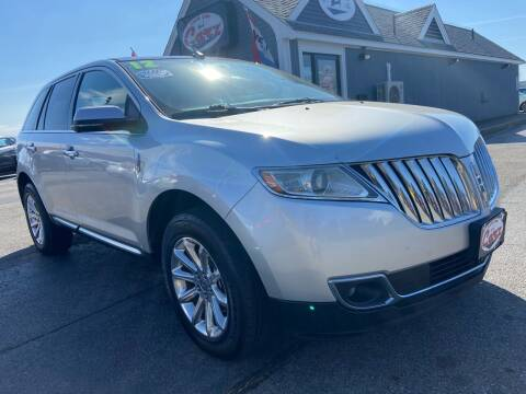 2012 Lincoln MKX for sale at Cape Cod Carz in Hyannis MA