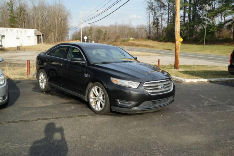2013 Ford Taurus for sale at Herman's Motor Sales Inc in Hurt VA