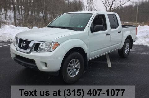 2016 Nissan Frontier for sale at Pete Kitt's Automotive Sales & Service in Camillus NY