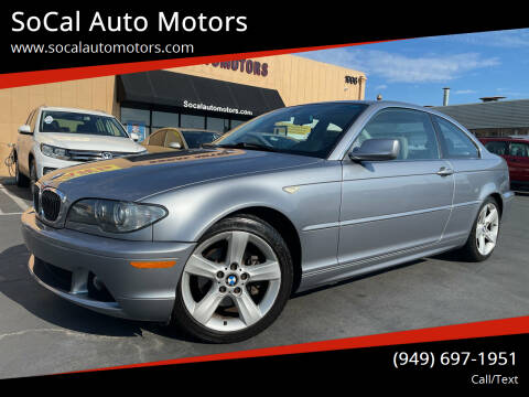 2004 BMW 3 Series for sale at SoCal Auto Motors in Costa Mesa CA
