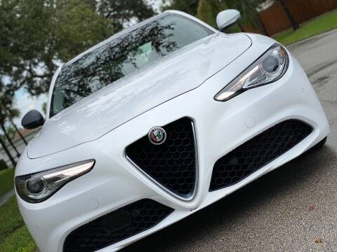 2017 Alfa Romeo Giulia for sale at HIGH PERFORMANCE MOTORS in Hollywood FL