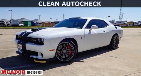 2016 Dodge Challenger for sale at Meador Dodge Chrysler Jeep RAM in Fort Worth TX
