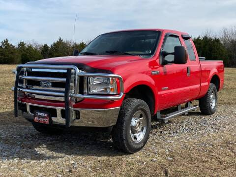2006 Ford F-250 Super Duty for sale at TINKER MOTOR COMPANY in Indianola OK
