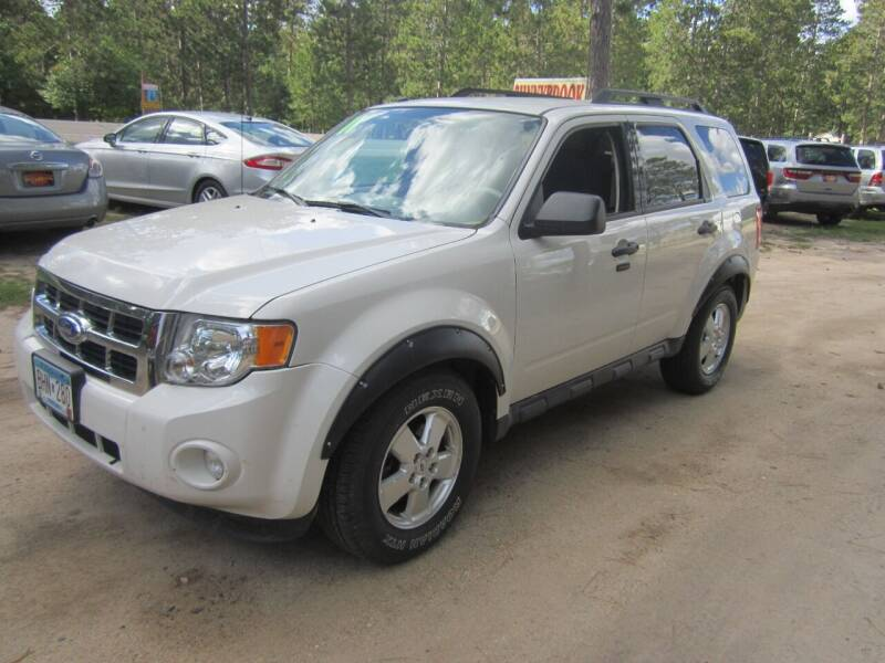 2011 Ford Escape for sale at SUNNYBROOK USED CARS in Menahga MN