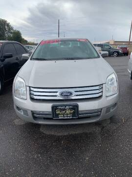 2008 Ford Fusion for sale at BELOW BOOK AUTO SALES in Idaho Falls ID