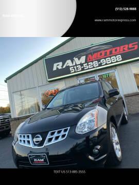 2012 Nissan Rogue for sale at RAM MOTORS in Cincinnati OH