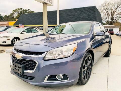 2014 Chevrolet Malibu for sale at Auto Space LLC in Norfolk VA