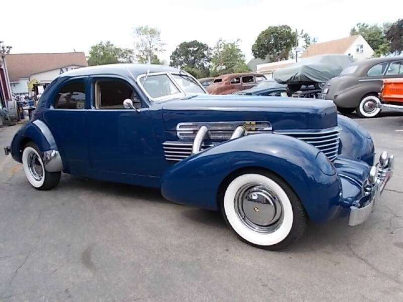 1937 Cord Super Charged Custom Beverly for sale at C & C AUTO SALES in Riverside NJ