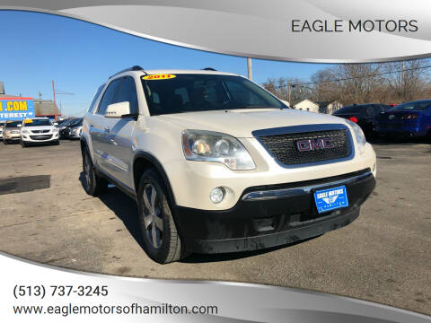 2011 GMC Acadia for sale at Eagle Motors in Hamilton OH