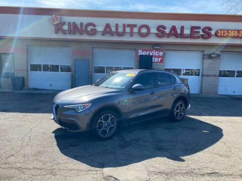 2018 Alfa Romeo Stelvio for sale at KING AUTO SALES  II in Detroit MI