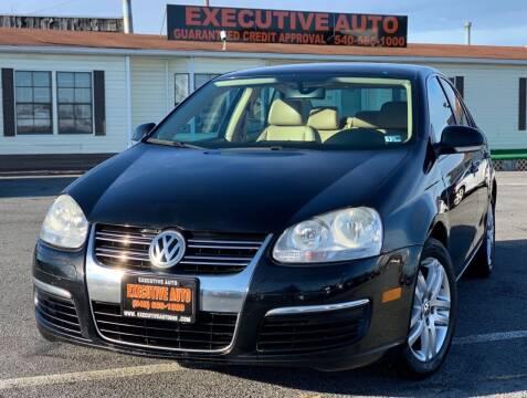 2006 Volkswagen Jetta for sale at Executive Auto in Winchester VA