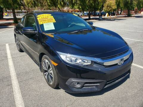 2018 Honda Civic for sale at ALL CREDIT AUTO SALES in San Jose CA