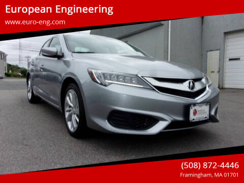 2018 Acura ILX for sale at European Engineering in Framingham MA