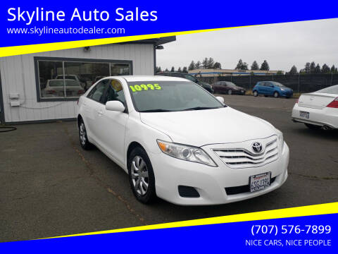 2011 Toyota Camry for sale at Skyline Auto Sales in Santa Rosa CA