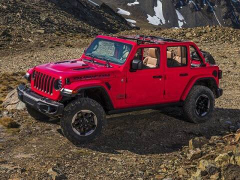 2020 Jeep Wrangler Unlimited for sale at APPLE HONDA in Riverhead NY
