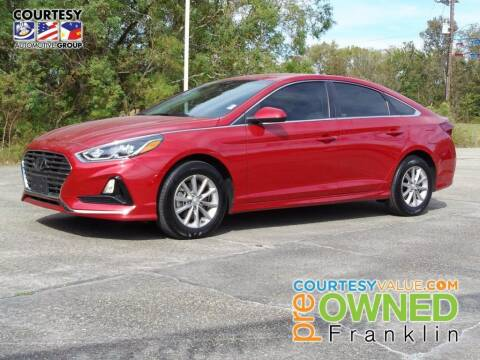 2019 Hyundai Sonata for sale at Courtesy Toyota & Ford in Morgan City LA