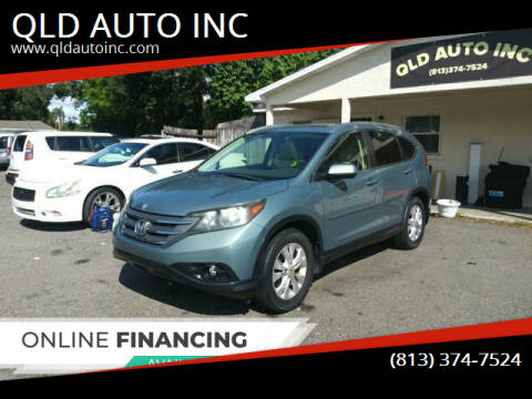 2012 Honda CR-V for sale at QLD AUTO INC in Tampa FL