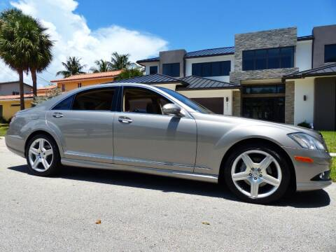 2007 Mercedes-Benz S-Class for sale at Lifetime Automotive Group in Pompano Beach FL