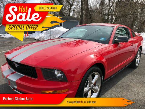 2005 Ford Mustang for sale at Perfect Choice Auto in Trenton NJ