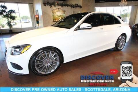 2016 Mercedes-Benz C-Class for sale at Discover Pre-Owned Auto Sales in Scottsdale AZ