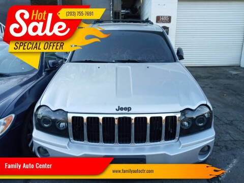 2006 Jeep Grand Cherokee for sale at Family Auto Center in Waterbury CT