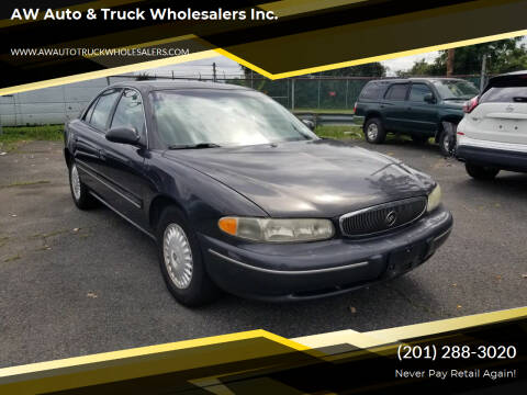 2001 Buick Century for sale at AW Auto & Truck Wholesalers  Inc. in Hasbrouck Heights NJ