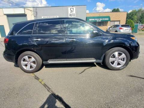 2013 Acura MDX for sale at 57 AUTO in Feeding Hills MA