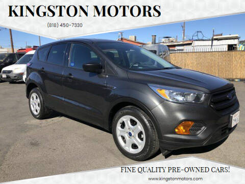 2017 Ford Escape for sale at Kingston Motors in North Hollywood CA