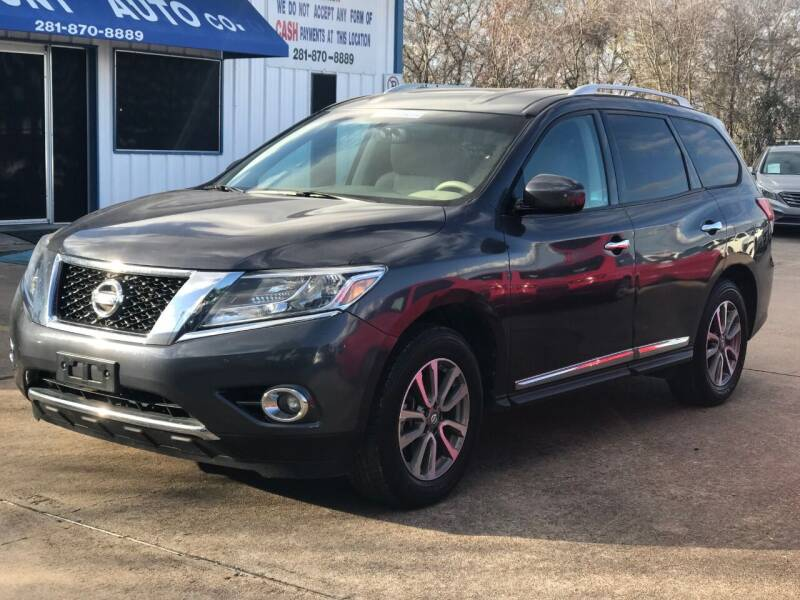 2013 Nissan Pathfinder for sale at Discount Auto Company in Houston TX