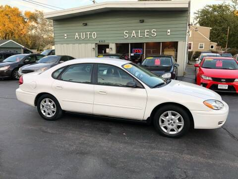 2005 Ford Taurus for sale at SHEFFIELD MOTORS INC in Kenosha WI
