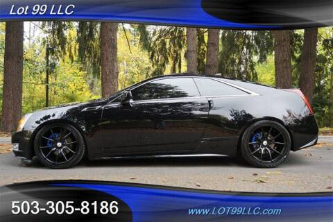 2012 Cadillac CTS for sale at LOT 99 LLC in Milwaukie OR