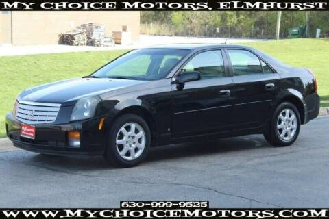 2007 Cadillac CTS for sale at My Choice Motors Elmhurst in Elmhurst IL