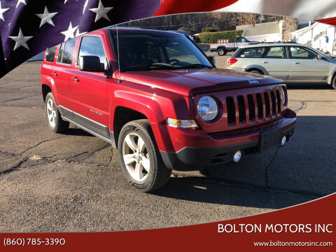 2016 Jeep Patriot for sale at BOLTON MOTORS INC in Bolton CT