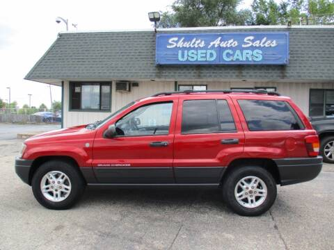 2004 Jeep Grand Cherokee for sale at SHULTS AUTO SALES INC. in Crystal Lake IL