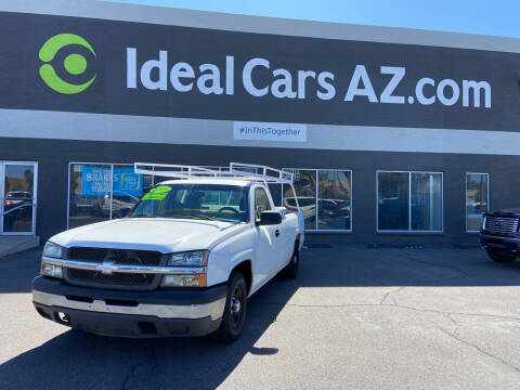 2003 Chevrolet Silverado 1500 for sale at Ideal Cars in Mesa AZ
