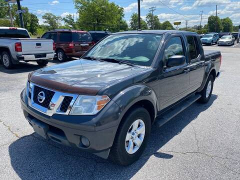 2012 Nissan Frontier for sale at Brewster Used Cars in Anderson SC