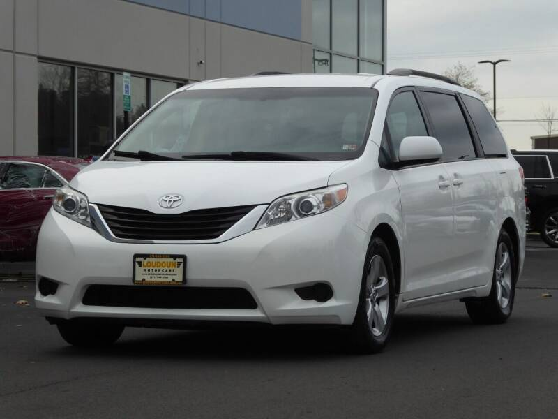 2014 Toyota Sienna for sale at Loudoun Motor Cars in Chantilly VA